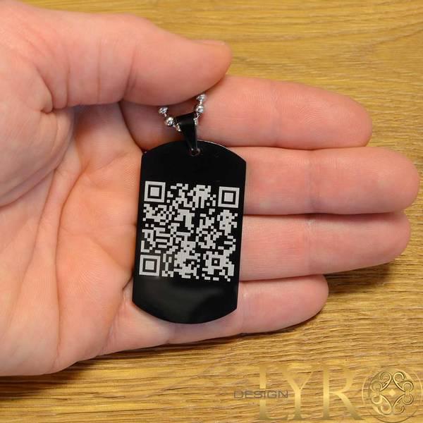 Bilde av Din personlige QR kode - Stålanheng