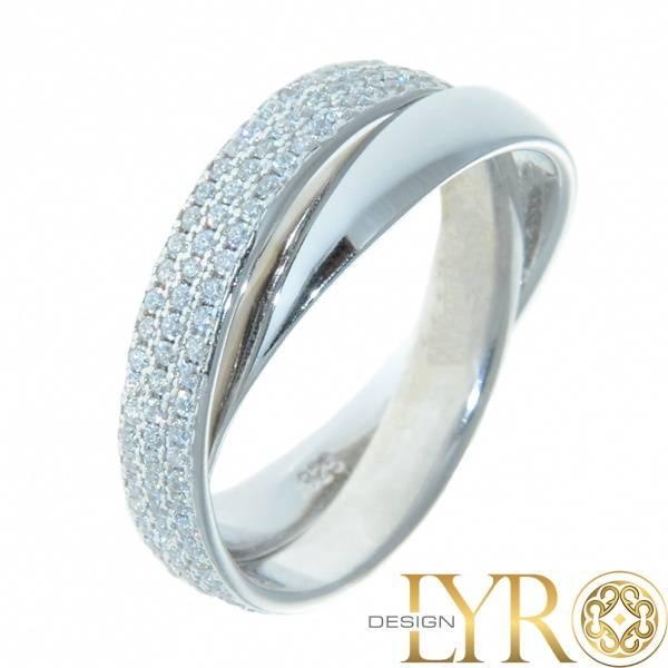 Bilde av Merida - Sølvring med Cubic Zirconia