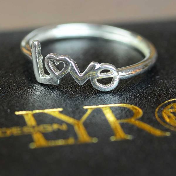 Bilde av Love - Sølvring